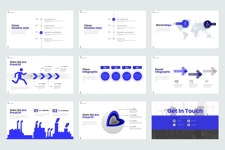Market In Google Slide Templates, Slide 5, 08467, Business Models — PoweredTemplate.com