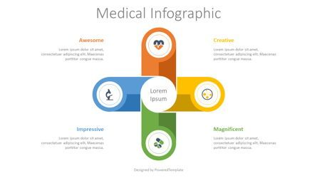 Medical Diagrams and Charts: Medical Process Infographic #08474
