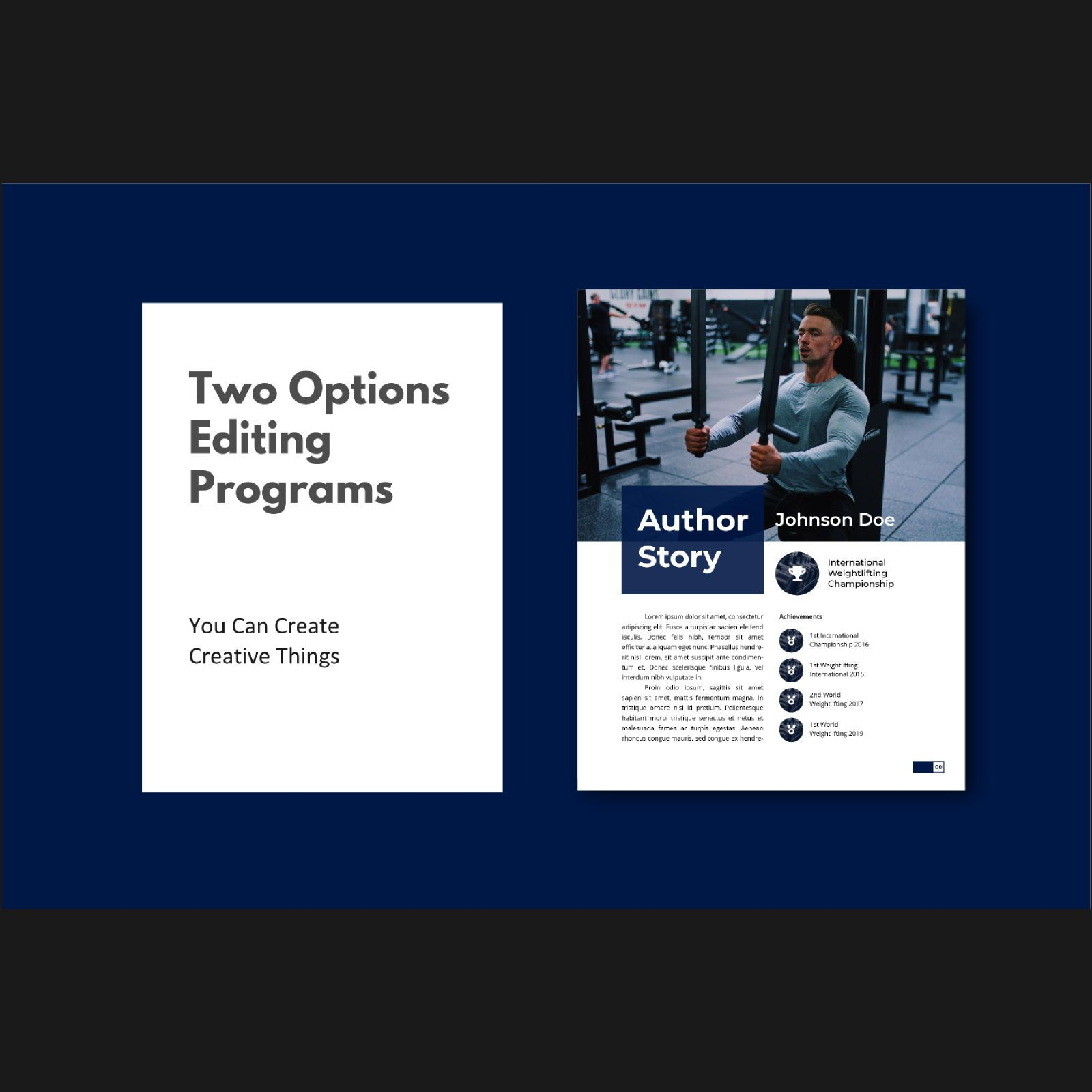 Stay healthy at home fitness ebook template, Slide 2, 08480, Infographics — PoweredTemplate.com