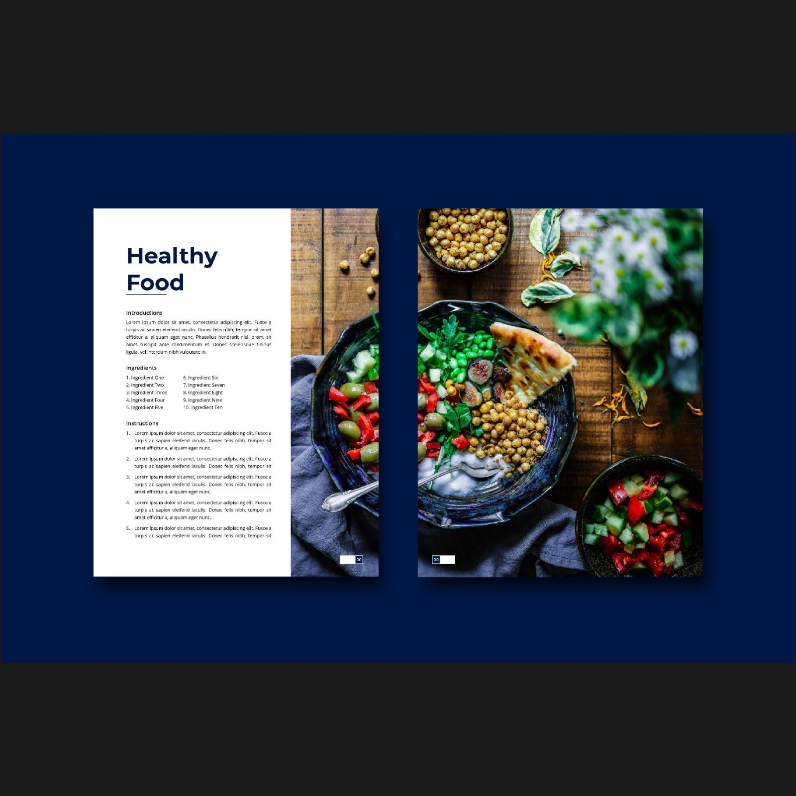 Stay healthy at home fitness ebook template, Slide 7, 08480, Infographics — PoweredTemplate.com
