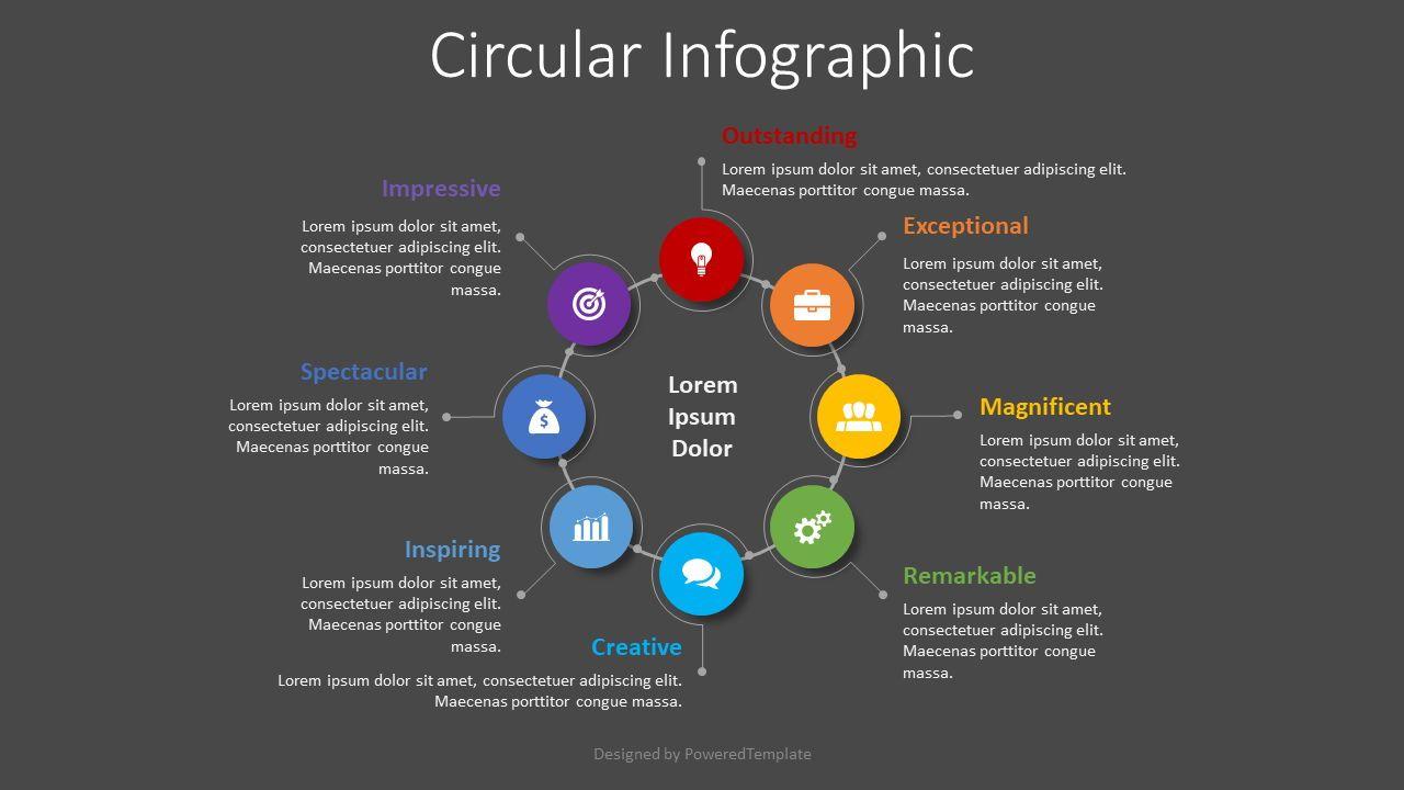 8 Step Business Process, Slide 2, 08481, Infographics — PoweredTemplate.com