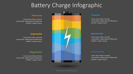 Infographics: Battery Charge Infographic #08483