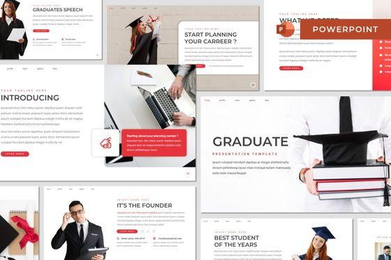 Presentation Templates: Graduate - Powerpoint Template #08485