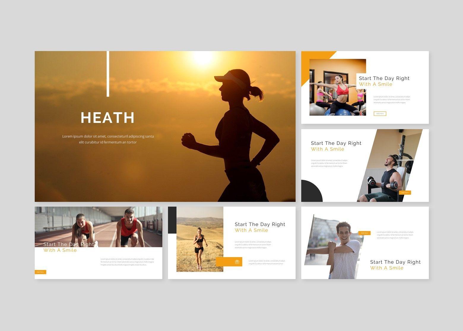 Heath – for you Google Slide Business Template, Slide 2, 08486, Business Models — PoweredTemplate.com