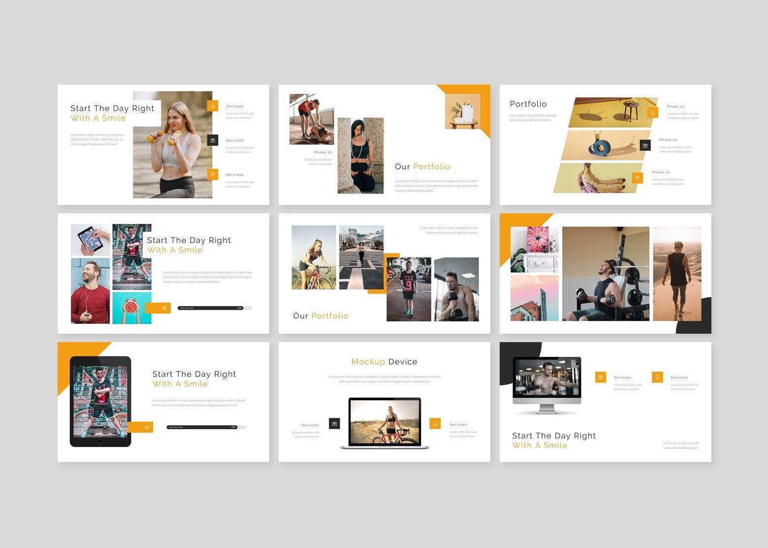 Heath – for you Google Slide Business Template, Slide 4, 08486, Business Models — PoweredTemplate.com