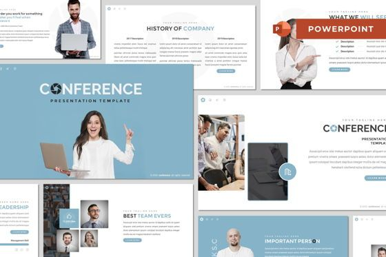 Presentation Templates: Conference - Powerpoint Template #08489
