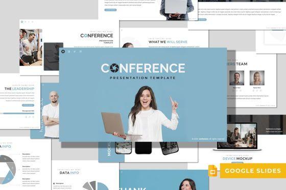 Presentation Templates: Conference - Google Slides Template #08495