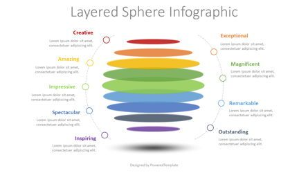 Shapes: Layered Sphere Infographic #08499