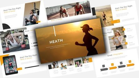 Business Models: Heath - For You PowerPoint Presentation Template #08506