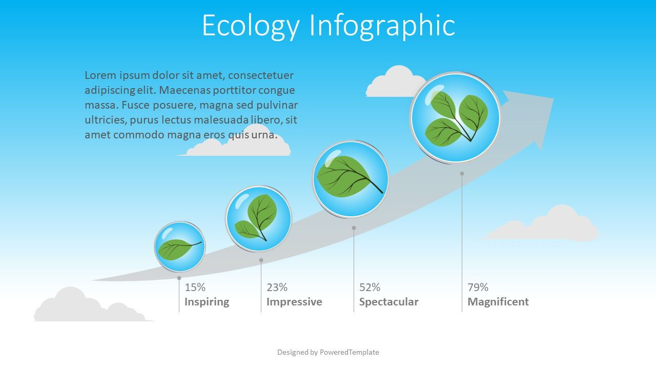 Ecology Concept Infographic, 08511, Infographics — PoweredTemplate.com