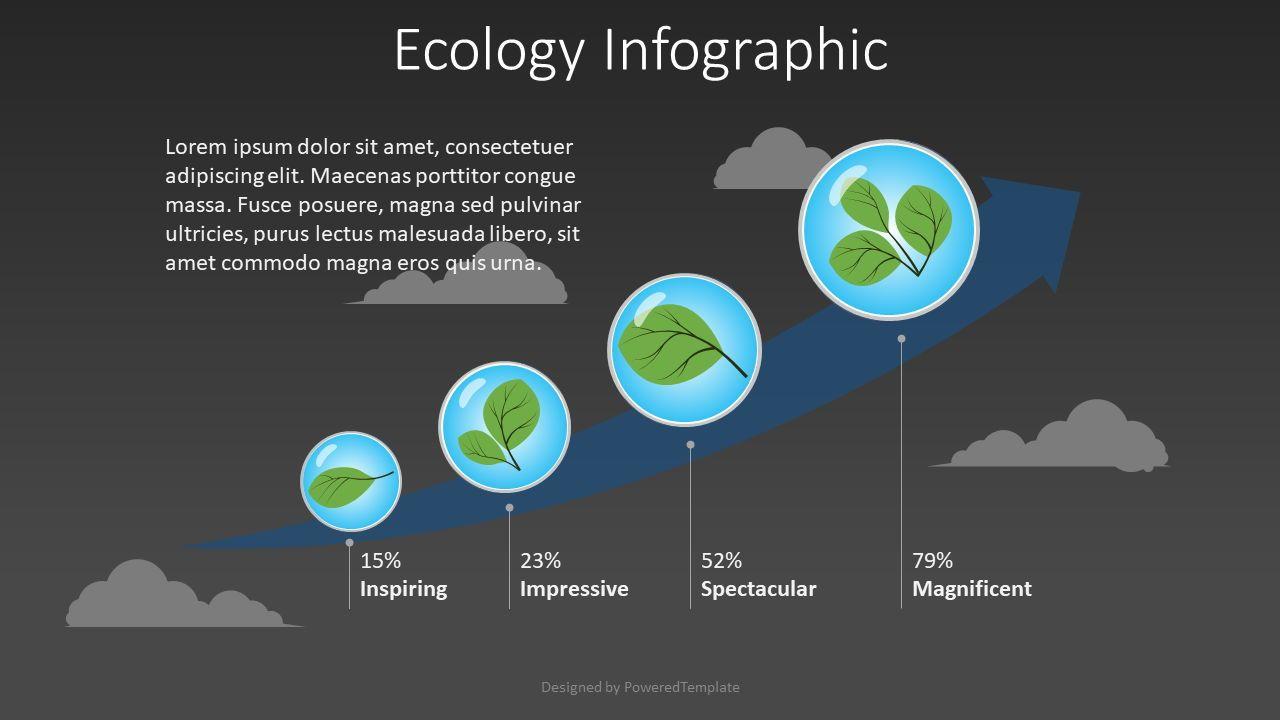 Ecology Concept Infographic, Slide 2, 08511, Infographics — PoweredTemplate.com