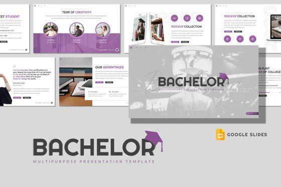 Presentation Templates: Bachelor - Google Slides Template #08512