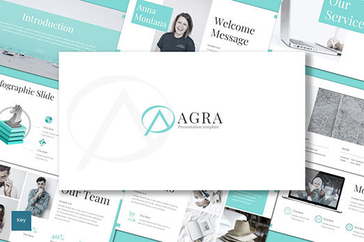 Presentation Templates: Agra - Keynote Template #08515