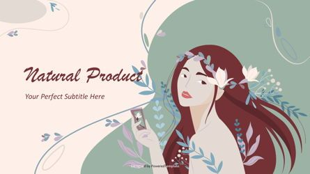 Presentation Templates: Natural Product Cover Slide #08517