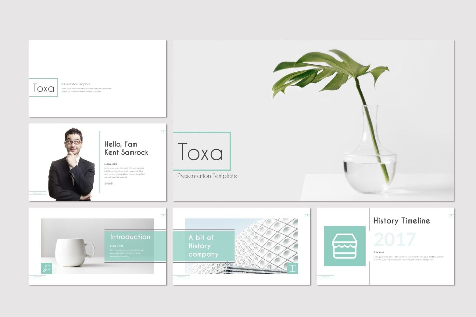 Toxa - Google Slides Template, Slide 2, 08519, Presentation Templates — PoweredTemplate.com