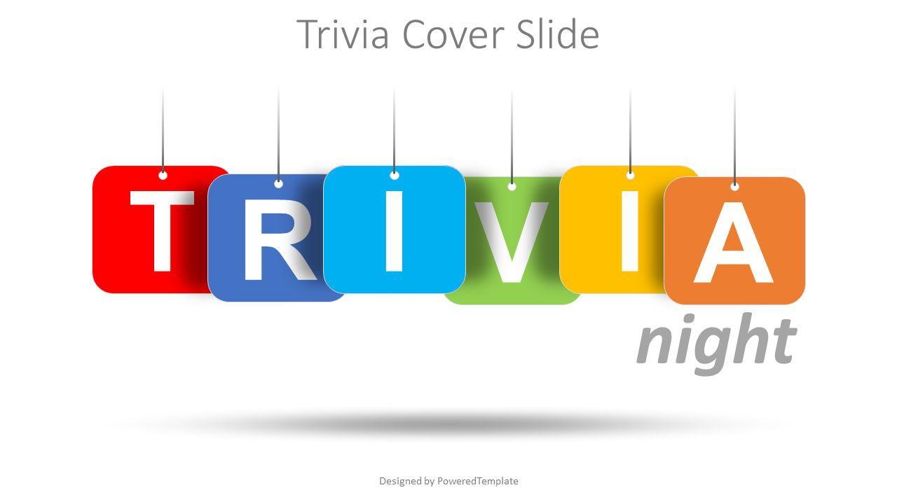 Trivia Night Cover Slide, Slide 2, 08540, Education Charts and Diagrams — PoweredTemplate.com