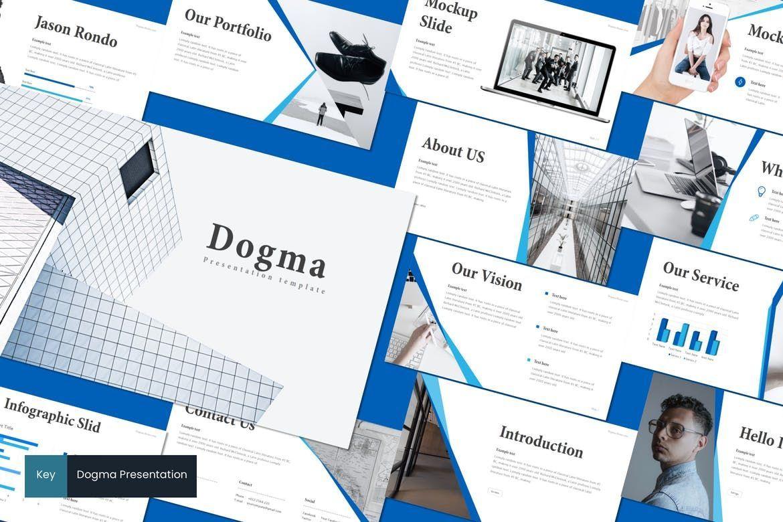 Dogma - Keynote Template, 08542, Presentation Templates — PoweredTemplate.com