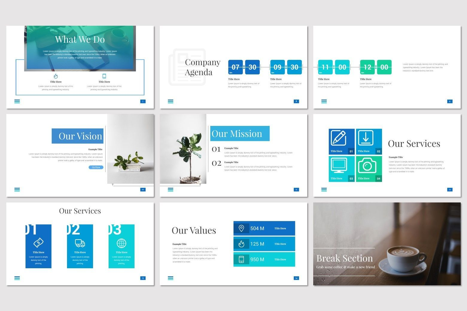 Towels - PowerPoint Template, Slide 3, 08545, Presentation Templates — PoweredTemplate.com