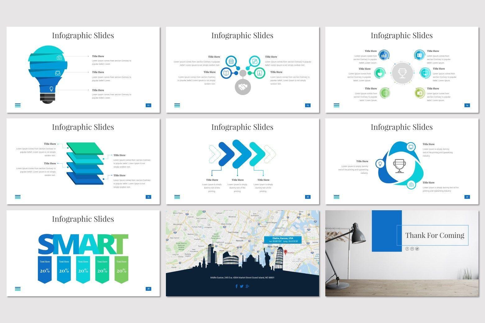 Towels - PowerPoint Template, Slide 5, 08545, Presentation Templates — PoweredTemplate.com