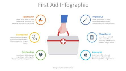 Medical Diagrams and Charts: First Aid Infographic #08546