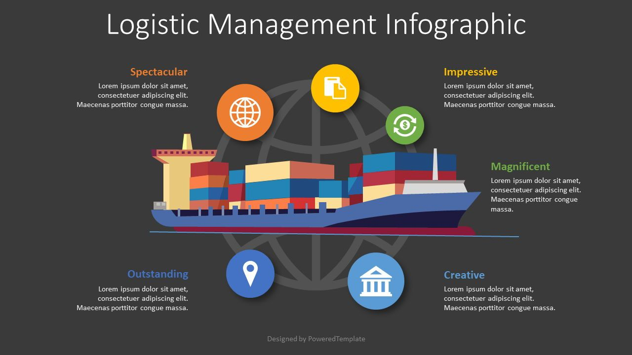 Logistics Management Infographic, Slide 2, 08549, Infographics — PoweredTemplate.com