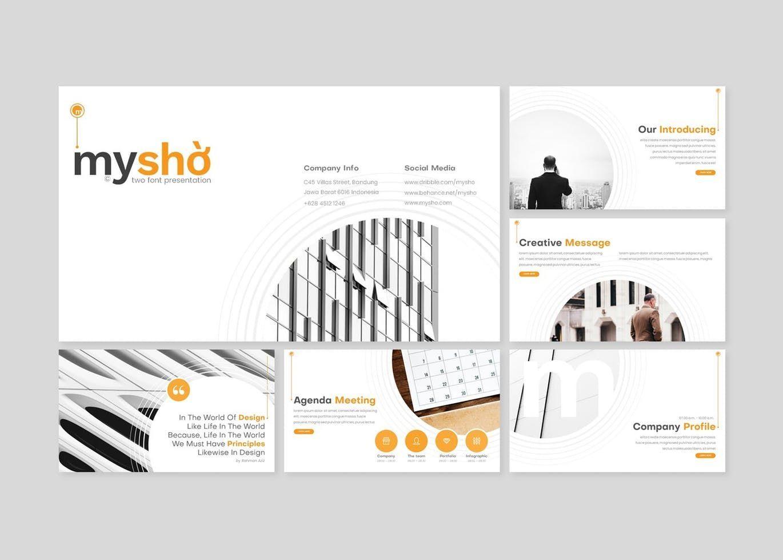 Myshio - Keynote Template, Slide 2, 08551, Presentation Templates — PoweredTemplate.com