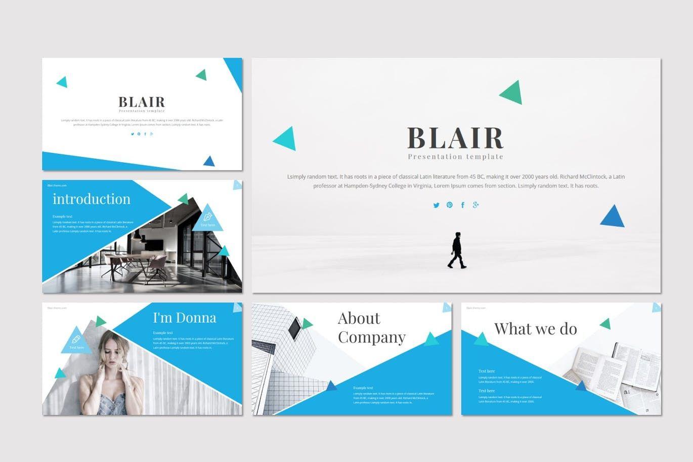 Blair - Keynote Template, Slide 2, 08553, Presentation Templates — PoweredTemplate.com