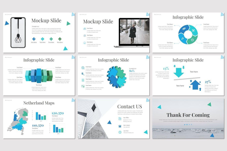 Blair - Keynote Template, Slide 5, 08553, Presentation Templates — PoweredTemplate.com