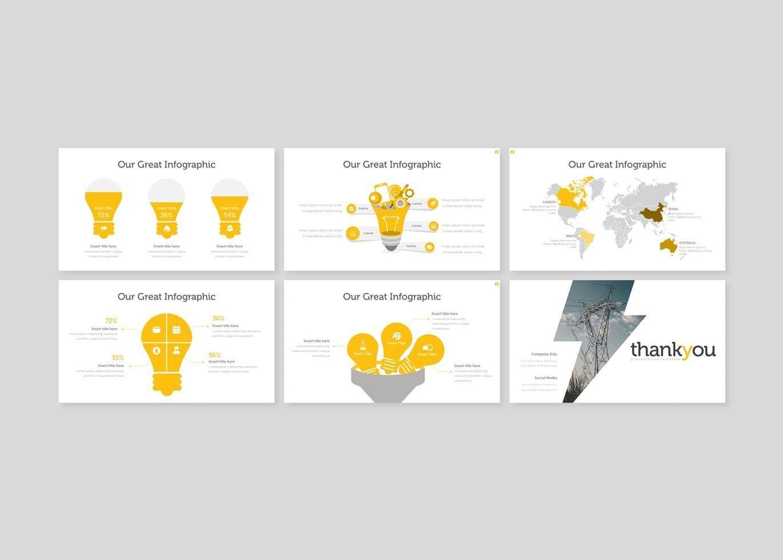 Electric - PowerPoint Template, Slide 5, 08556, Presentation Templates — PoweredTemplate.com