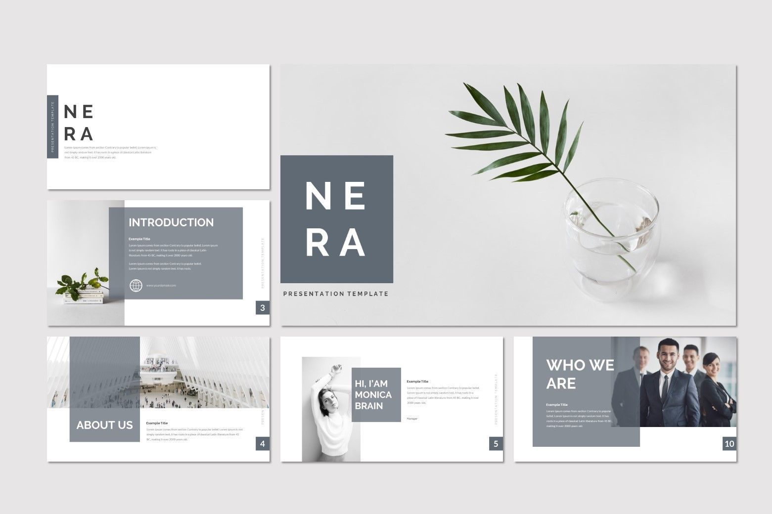Nera - PowerPoint Template, Slide 2, 08557, Presentation Templates — PoweredTemplate.com