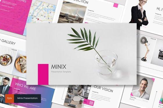 Presentation Templates: Minix - PowerPoint Template #08559