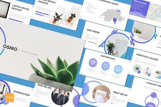 Presentation Templates: Osmo - Google Slides Template #08560