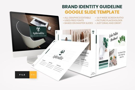 Presentation Templates: Brand Identity Guideline Google Slide Template #08563