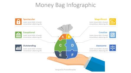 Infographics: Money Bag Infographic #08564