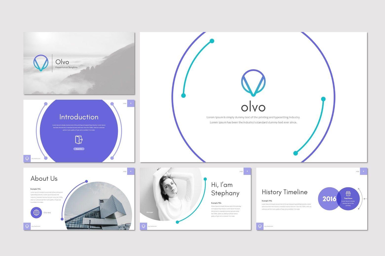 Olvo - Keynote Template, Slide 2, 08566, Presentation Templates — PoweredTemplate.com
