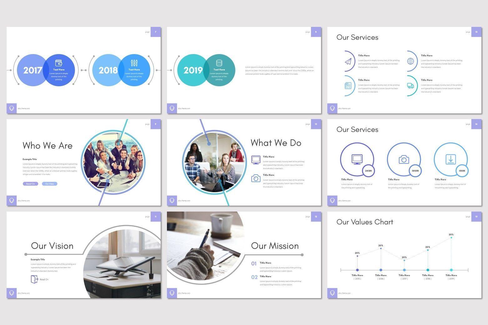 Olvo - Keynote Template, Slide 3, 08566, Presentation Templates — PoweredTemplate.com