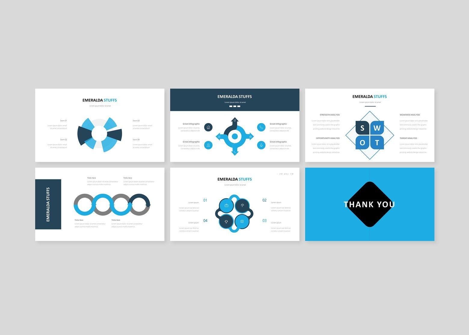 Emeralda – Creative Google Slide Business Template, Slide 5, 08570, Business Models — PoweredTemplate.com