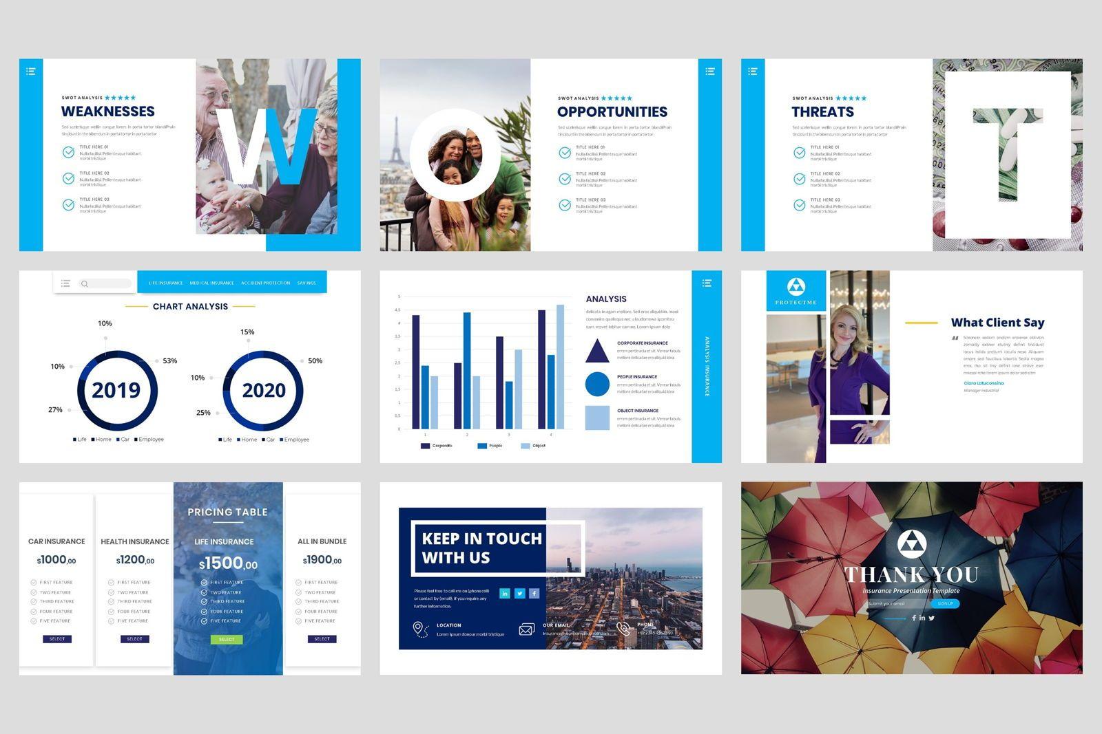 Insurance - Business Consultant Google Slide Template, Slide 5, 08571, Presentation Templates — PoweredTemplate.com