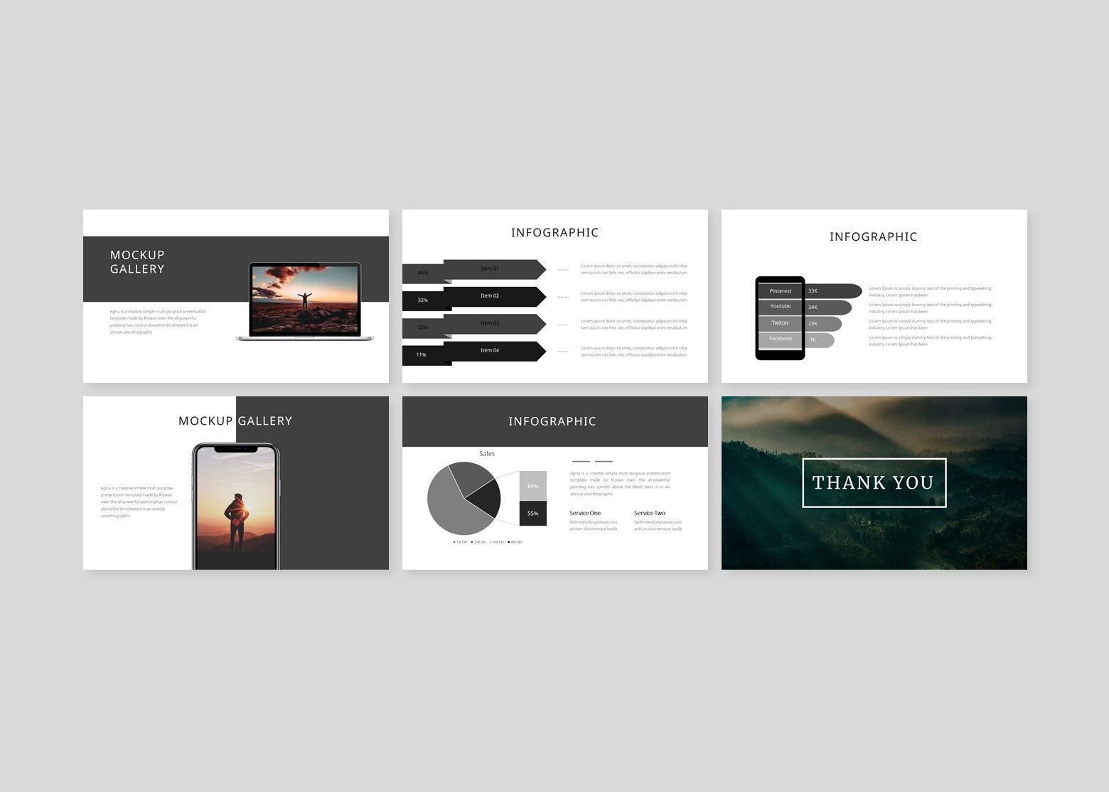 Argonda – Creative Google Slide Business Template, Slide 5, 08573, Business Models — PoweredTemplate.com