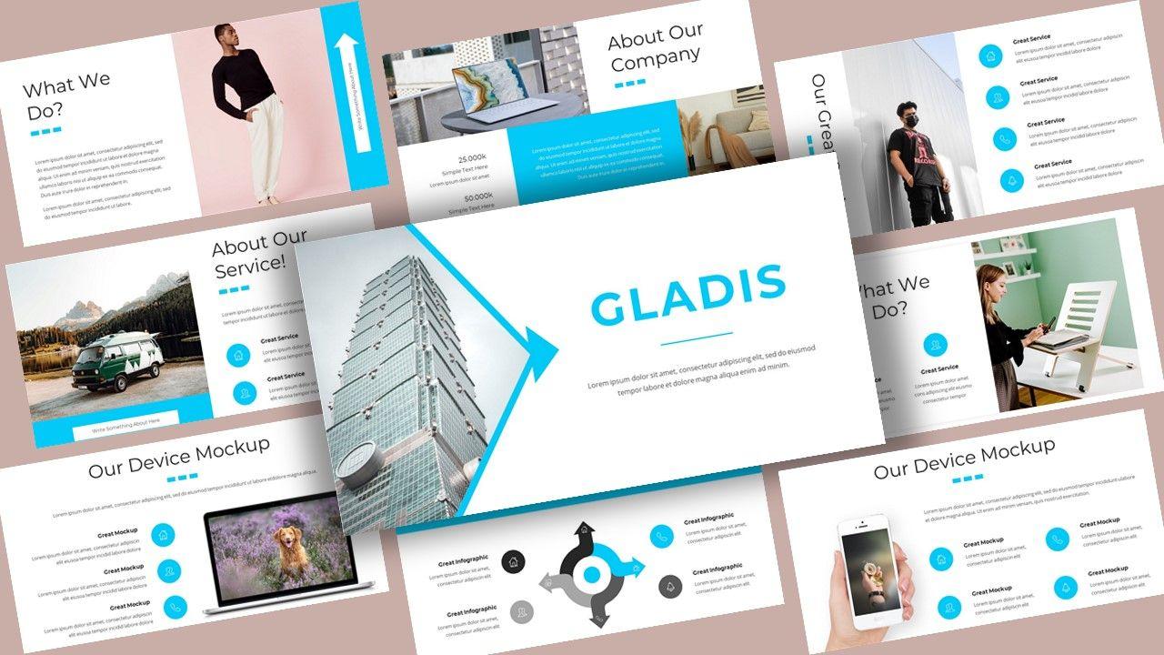Gladis - Business PowerPoint Template, 08576, Business Models — PoweredTemplate.com