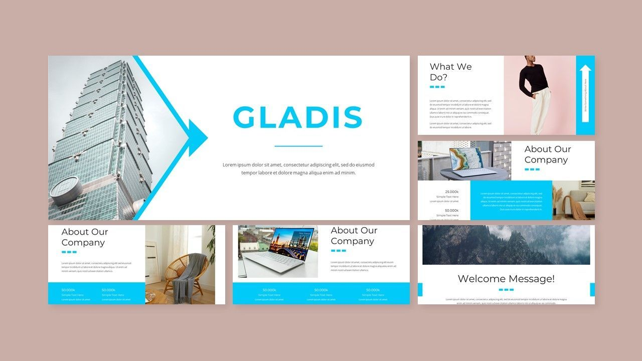 Gladis - Business PowerPoint Template, Slide 2, 08576, Business Models — PoweredTemplate.com
