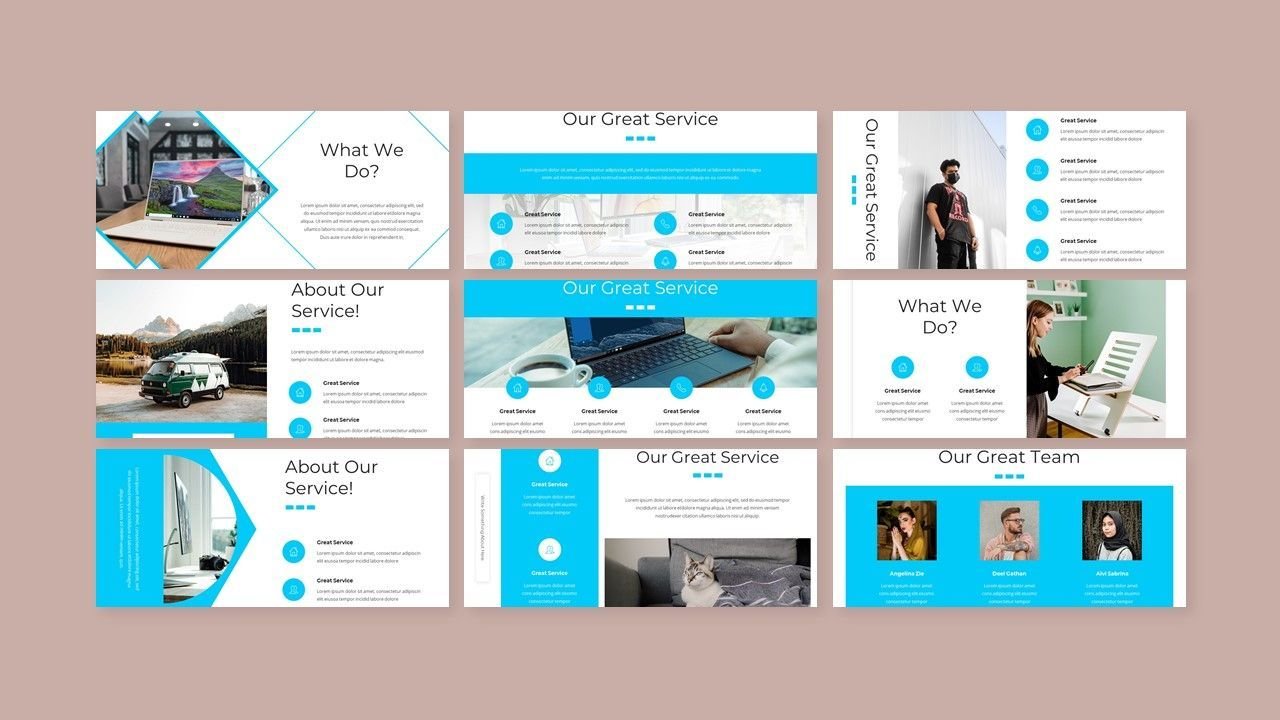 Gladis - Business PowerPoint Template, Slide 3, 08576, Business Models — PoweredTemplate.com
