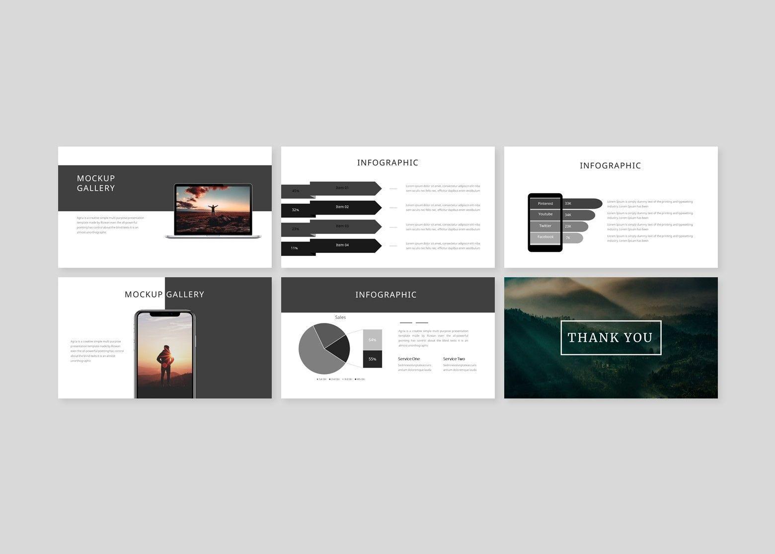 Argonda – Creative Keynote Business Template, Slide 5, 08582, Business Models — PoweredTemplate.com