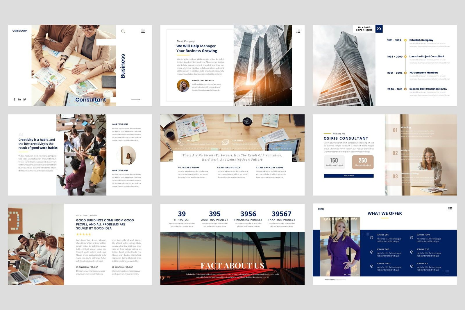 Business - Consultant Finance Keynote Template, Slide 2, 08583, Presentation Templates — PoweredTemplate.com