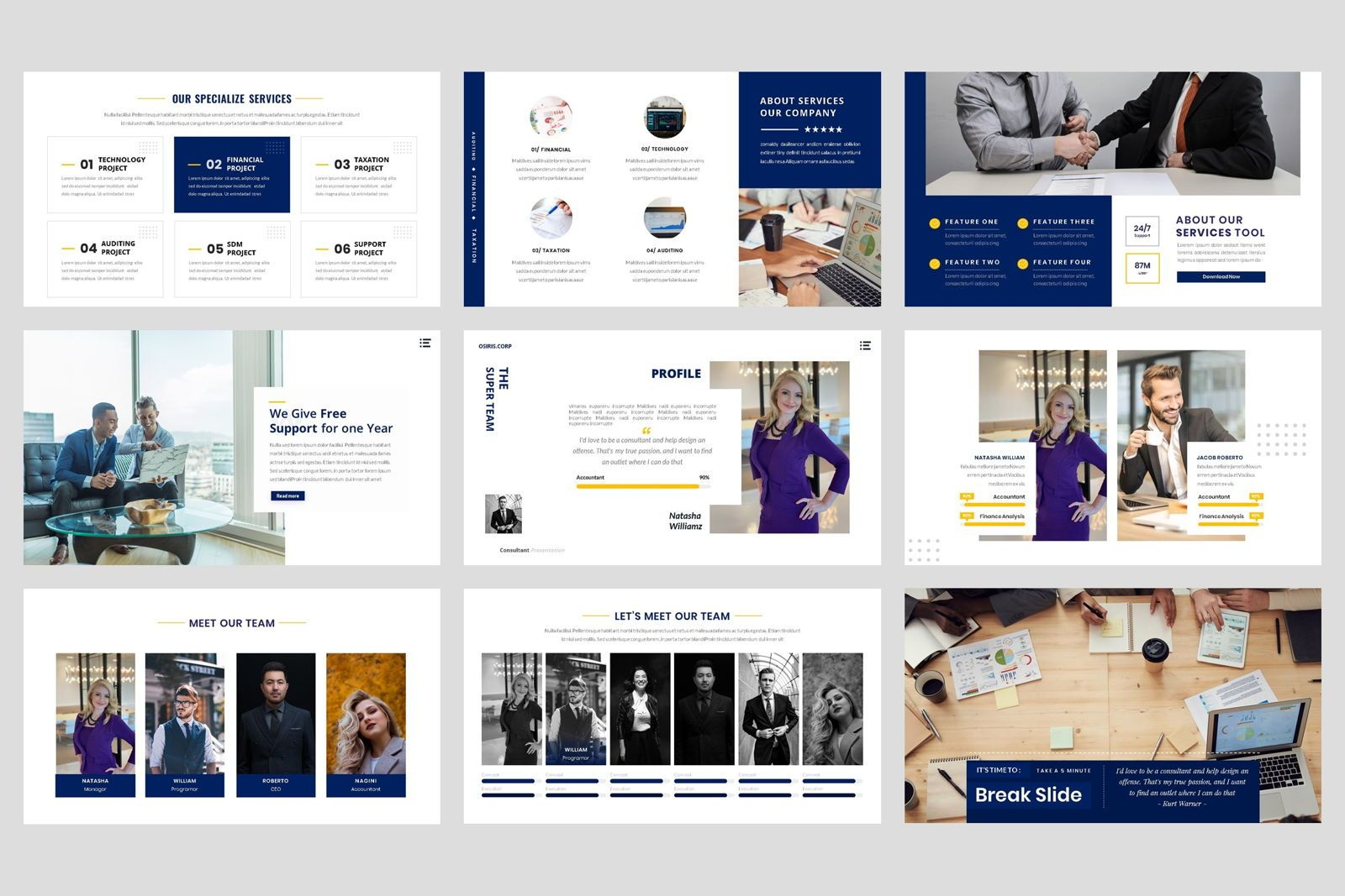 Business - Consultant Finance Keynote Template, Slide 3, 08583, Presentation Templates — PoweredTemplate.com