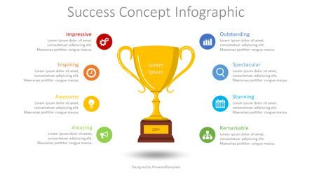 Infographics: Success Concept Inforgraphic #08584