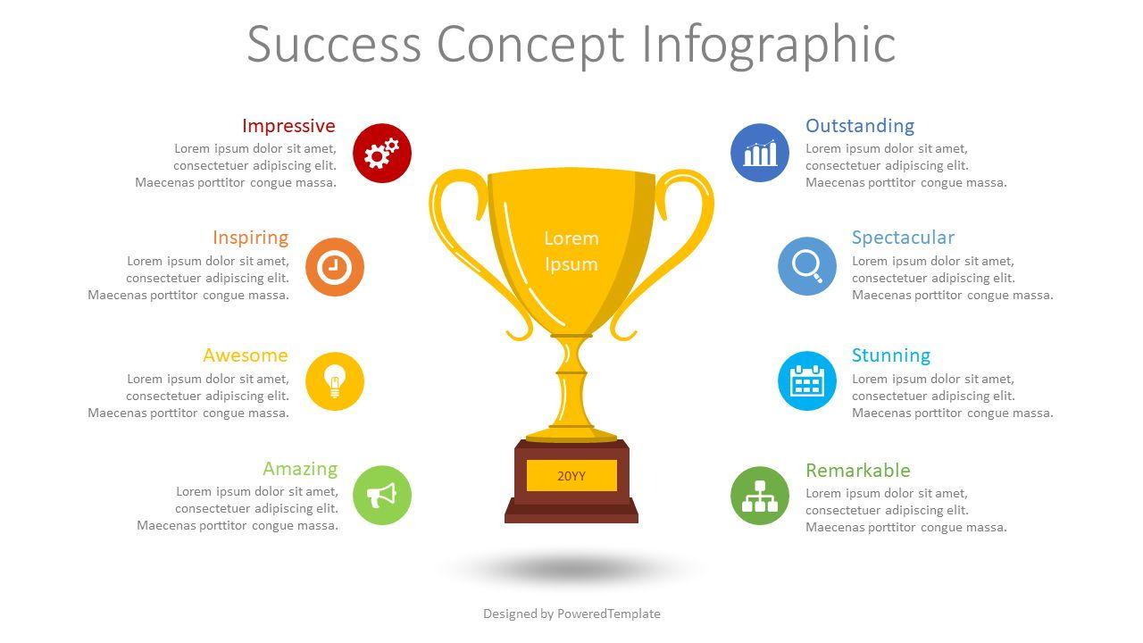 Success Concept Inforgraphic, 08584, Infographics — PoweredTemplate.com