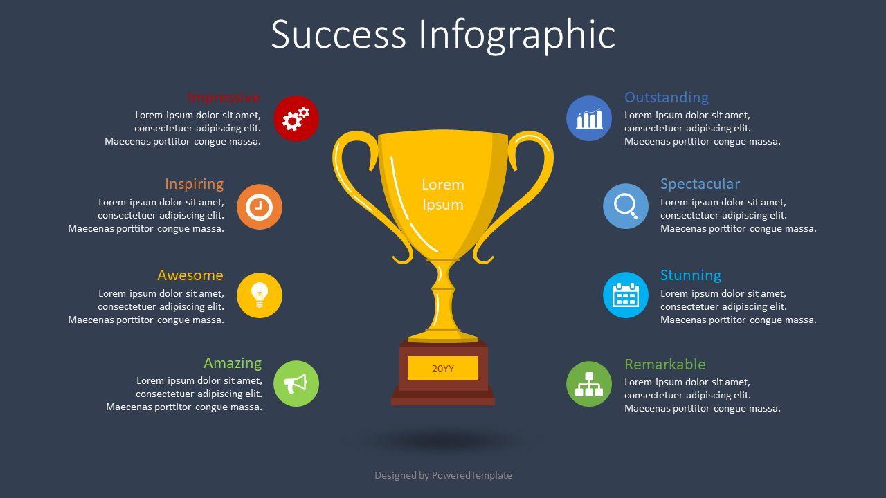 Success Concept Inforgraphic, Slide 2, 08584, Infographics — PoweredTemplate.com