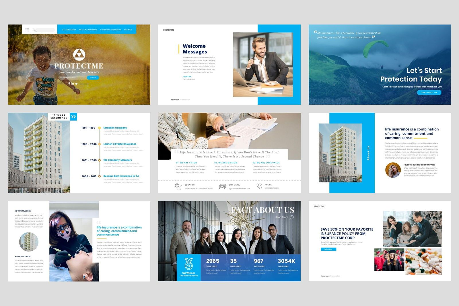 Insurance - Business Consultant Keynote Template, Slide 2, 08588, Presentation Templates — PoweredTemplate.com