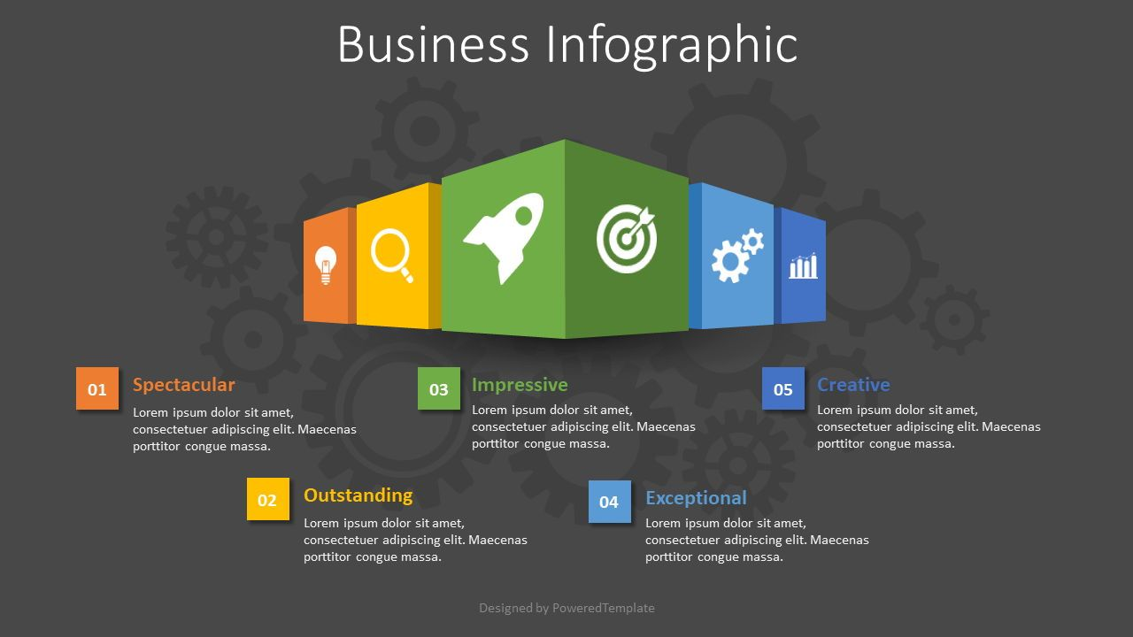 Business Infographic, Slide 2, 08596, Infographics — PoweredTemplate.com